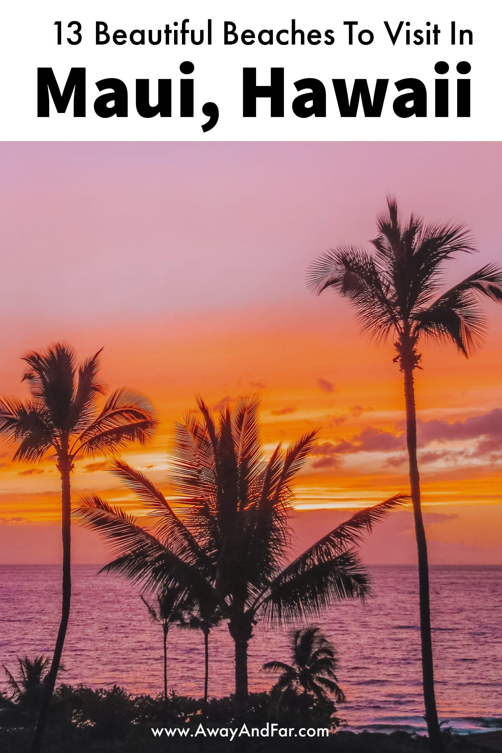 13 Best Beaches In Maui, Hawaii (1)