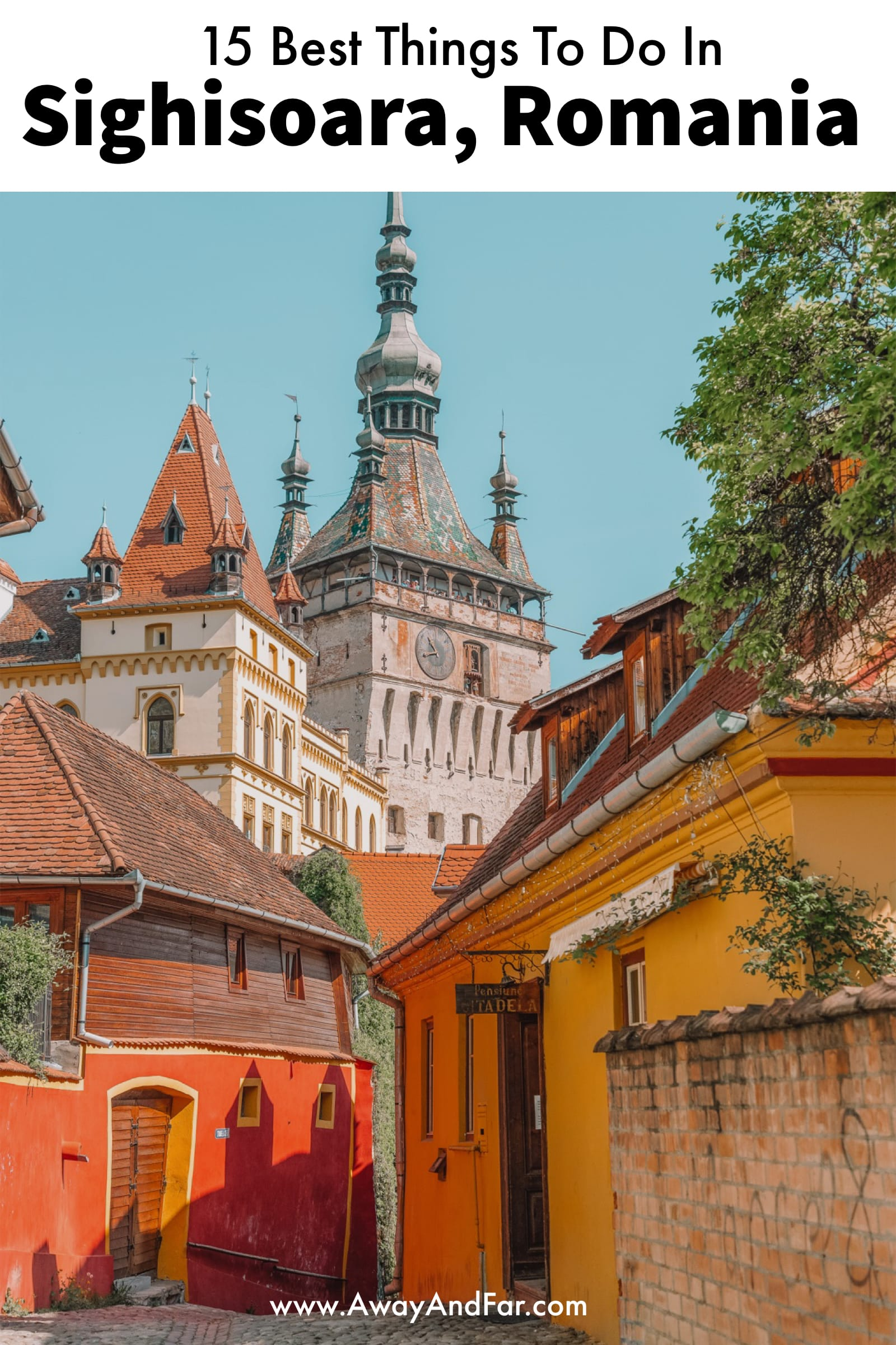 15 Best Things To Do In Sighisoara, Romania (1)